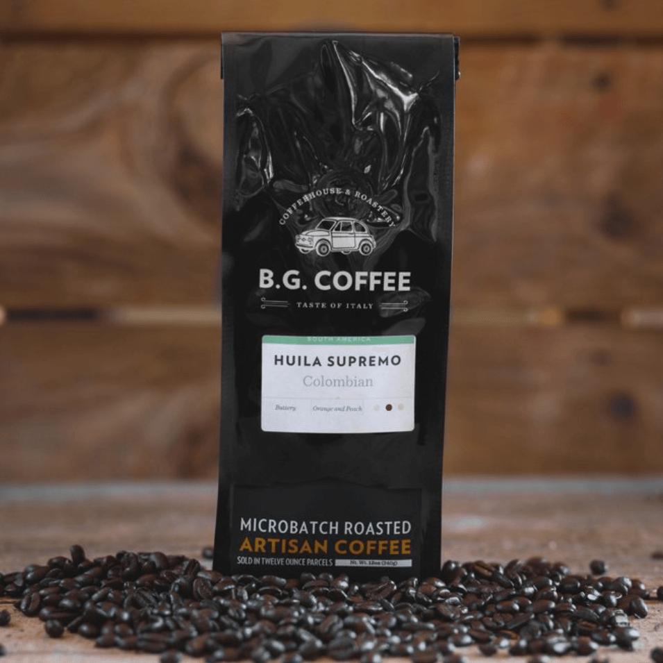 Huila Supremo (Colombian) from Buon Giorno Coffee