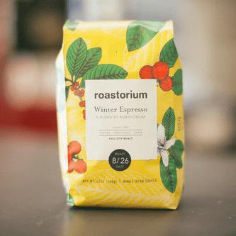 Winter Espresso from Roastorium