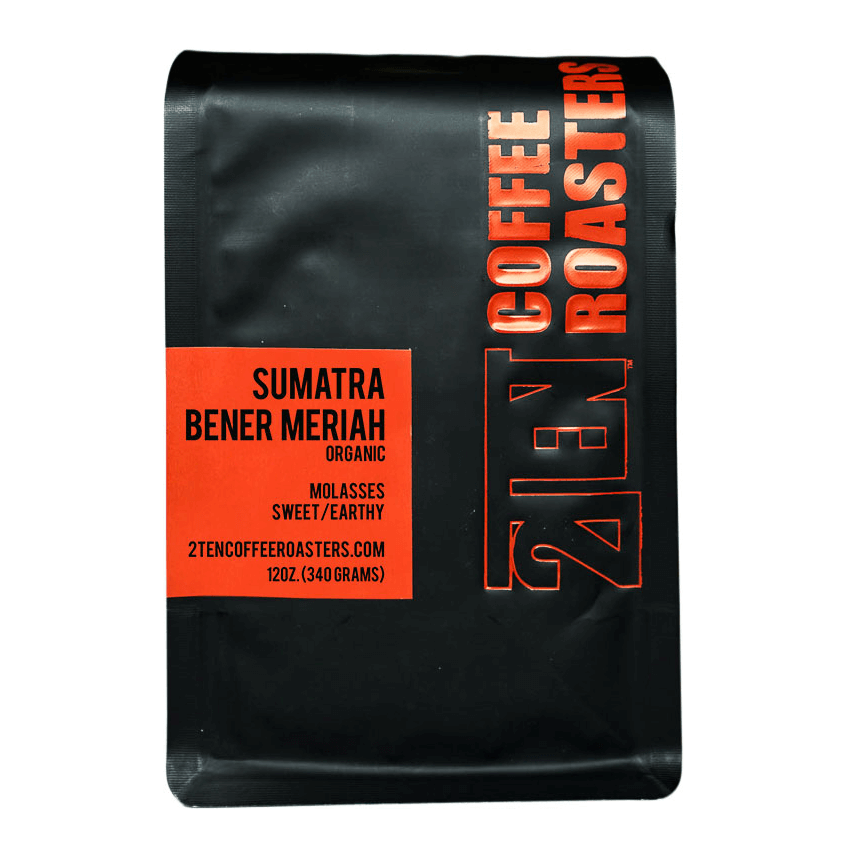 Sumatra Bener Meriah | Single Origin from 2Ten Coffee Roasters