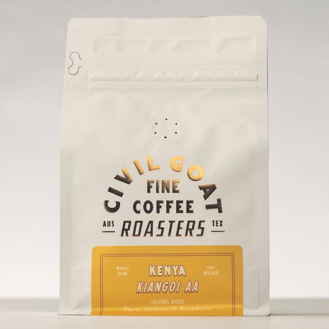 Kenya Kiangoi AA from Civil Goat Coffee