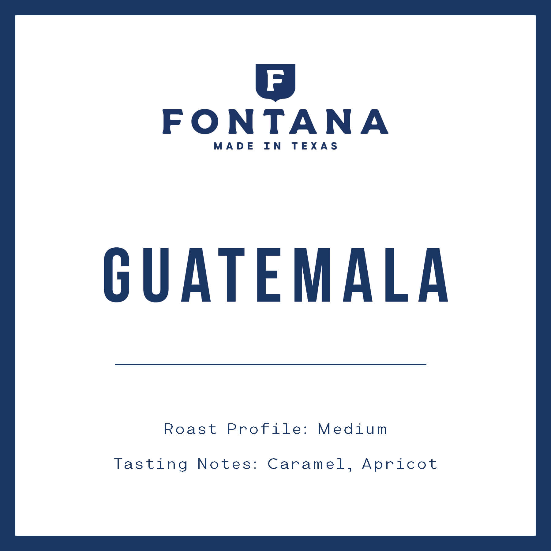 Guatemala Medium from Fontana Coffee Roasters