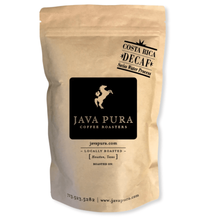 Costa Rica Swiss Water Decaf from Java Pura