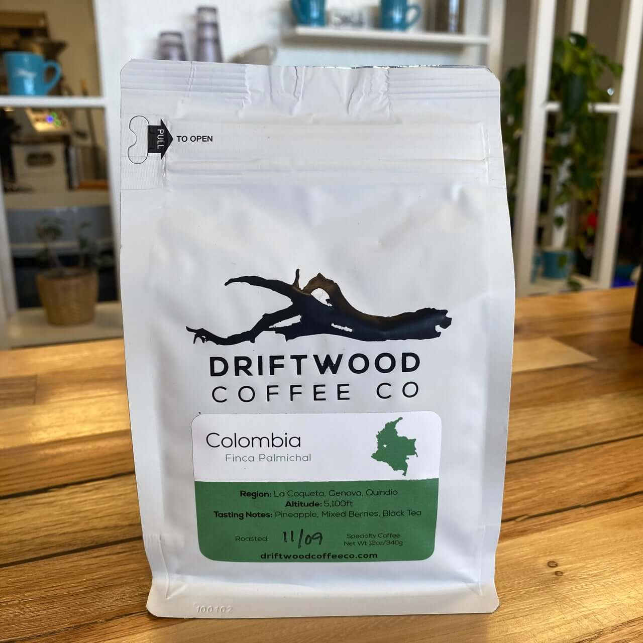 Colombia Finca Palmichal from Driftwood Coffee Co