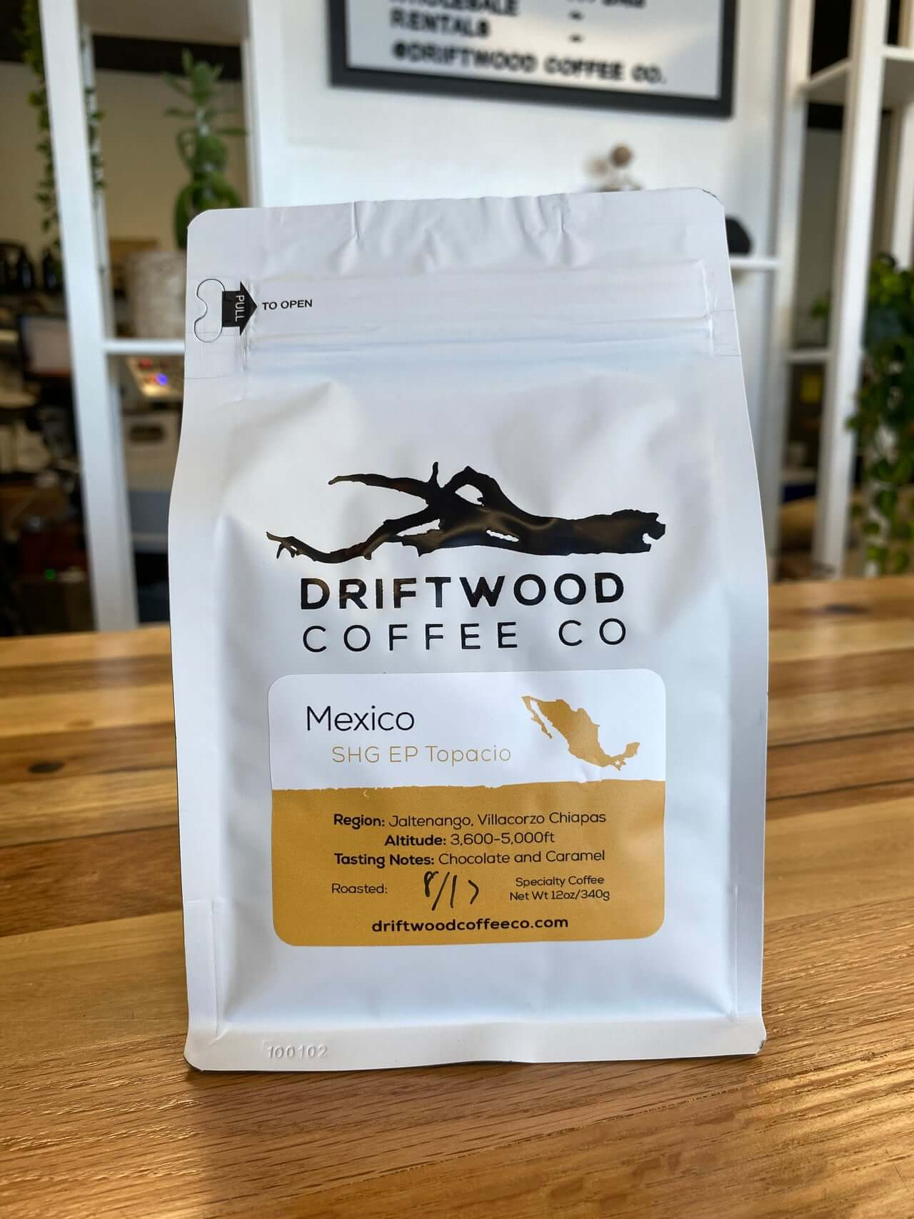 Mexico Topacio from Driftwood Coffee Co