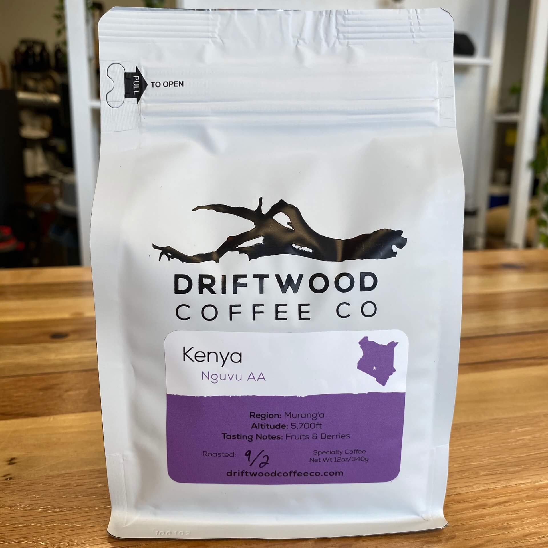 Kenya Nguvu AA from Driftwood Coffee Co