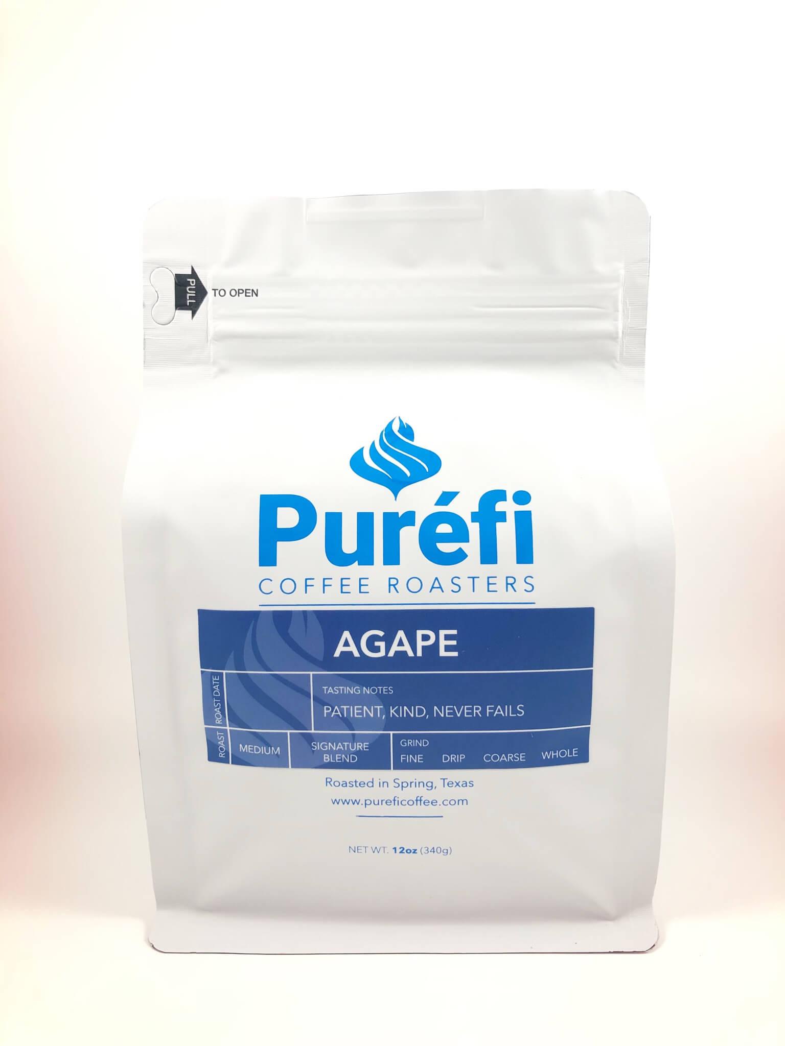 Agape from Purefi Coffee Roasters
