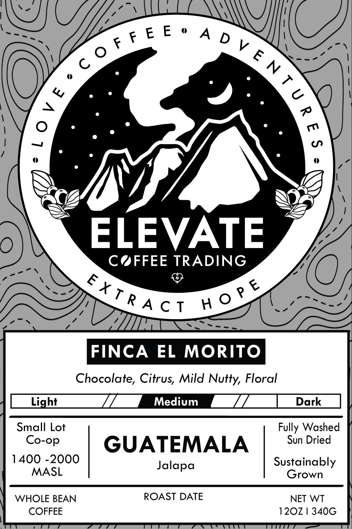 Guatemala - Medium Roast from Elevate Coffee Trading