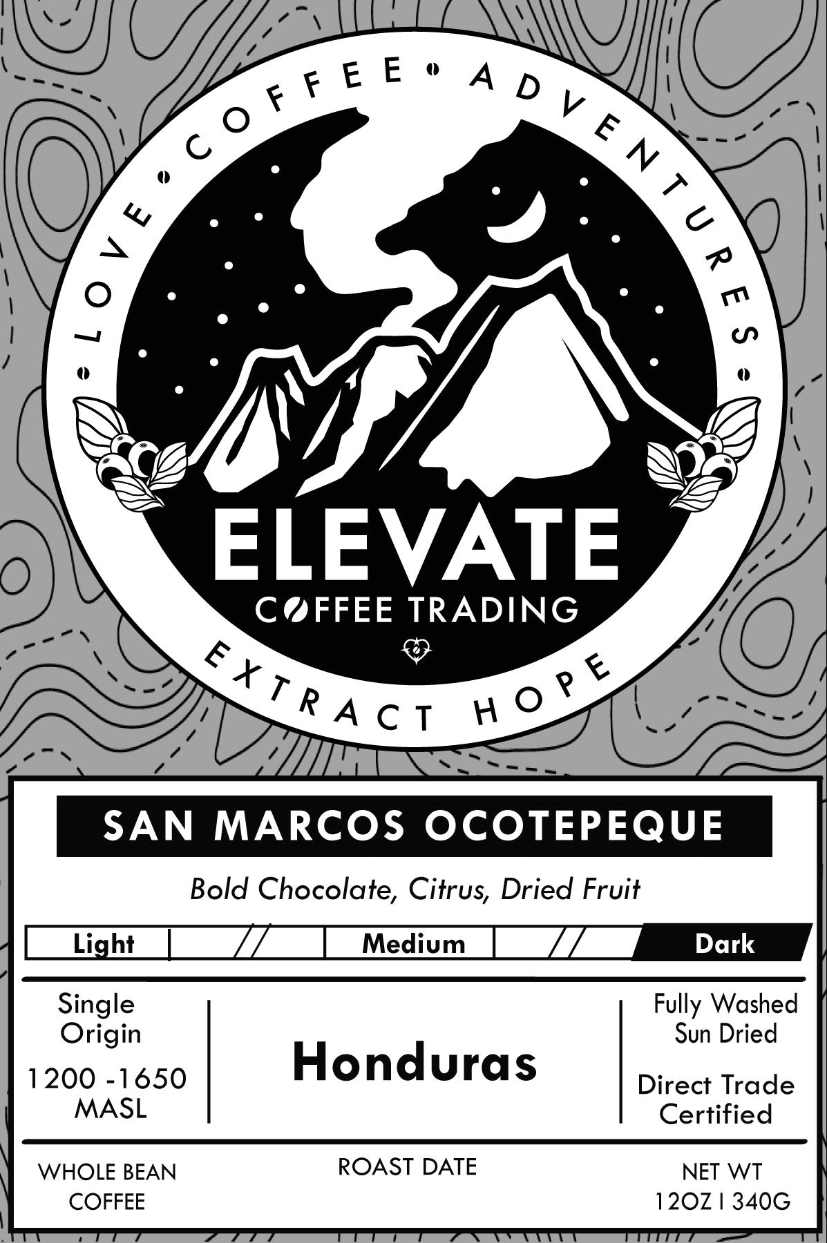Honduras - Dark Roast from Elevate Coffee Trading