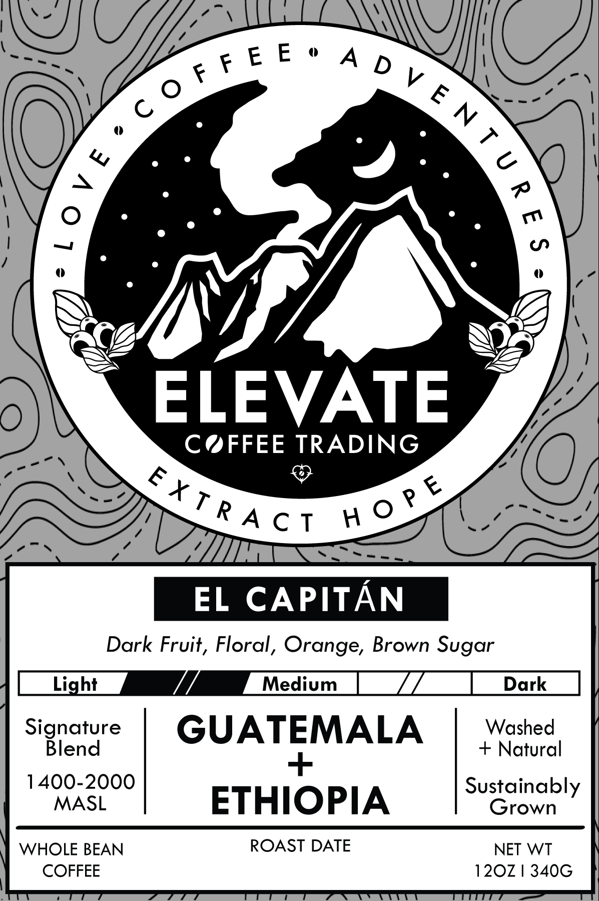 El Capitan - Blend from Elevate Coffee Trading