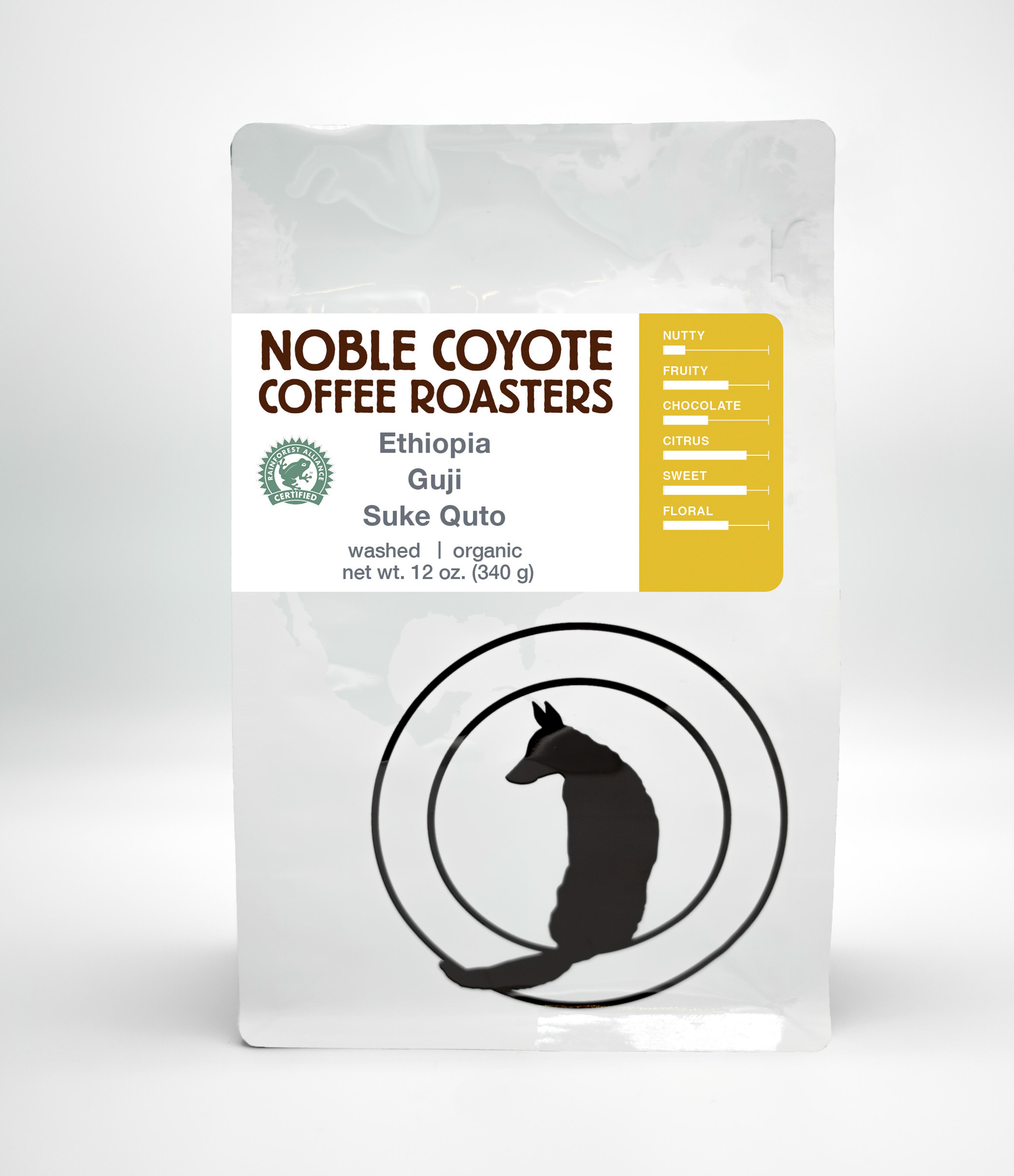 Ethiopia Suke Quto from Noble Coyote Coffee Roasters