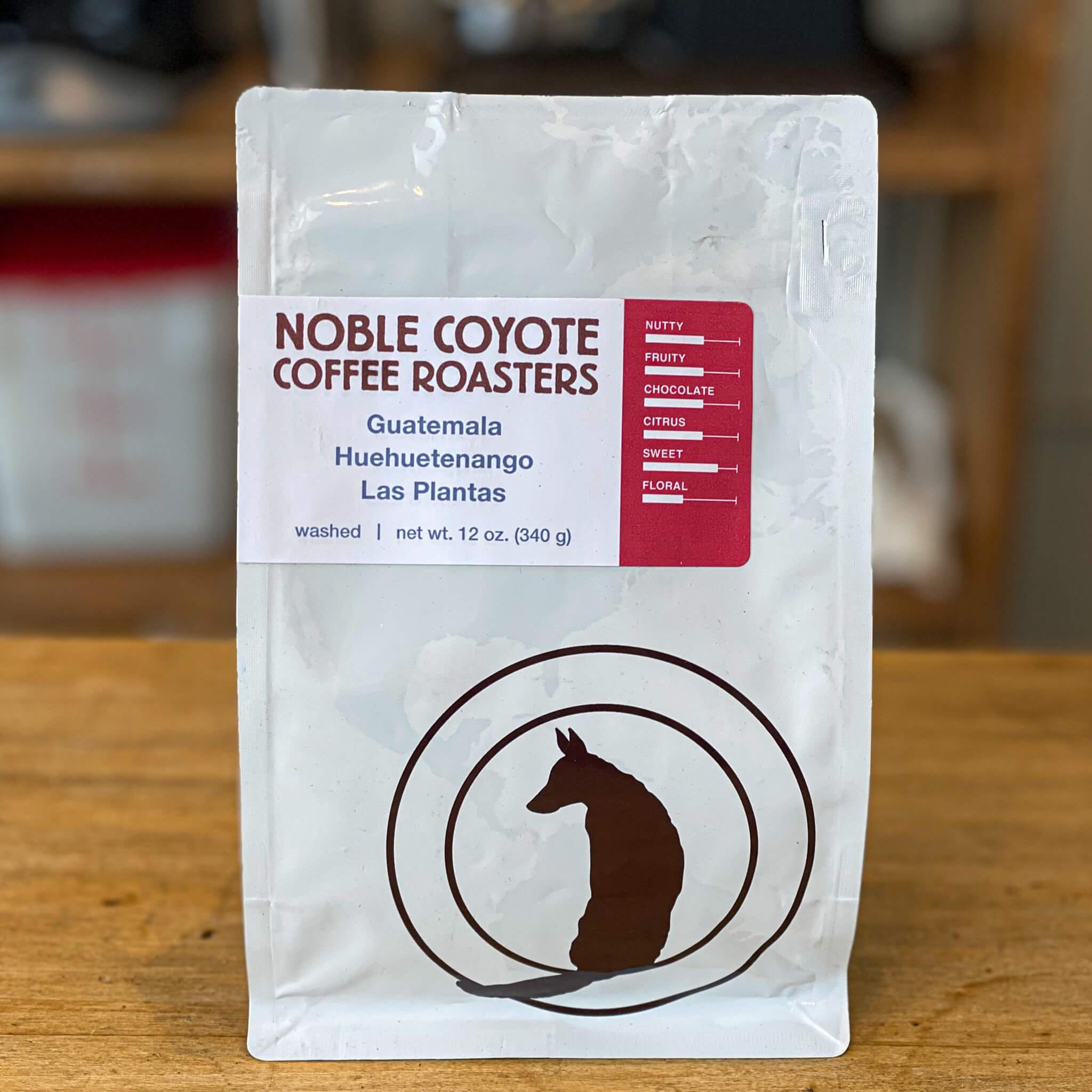 Guatemala Las Plantas from Noble Coyote Coffee Roasters