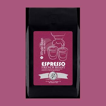 Espresso from CJ's Coffee