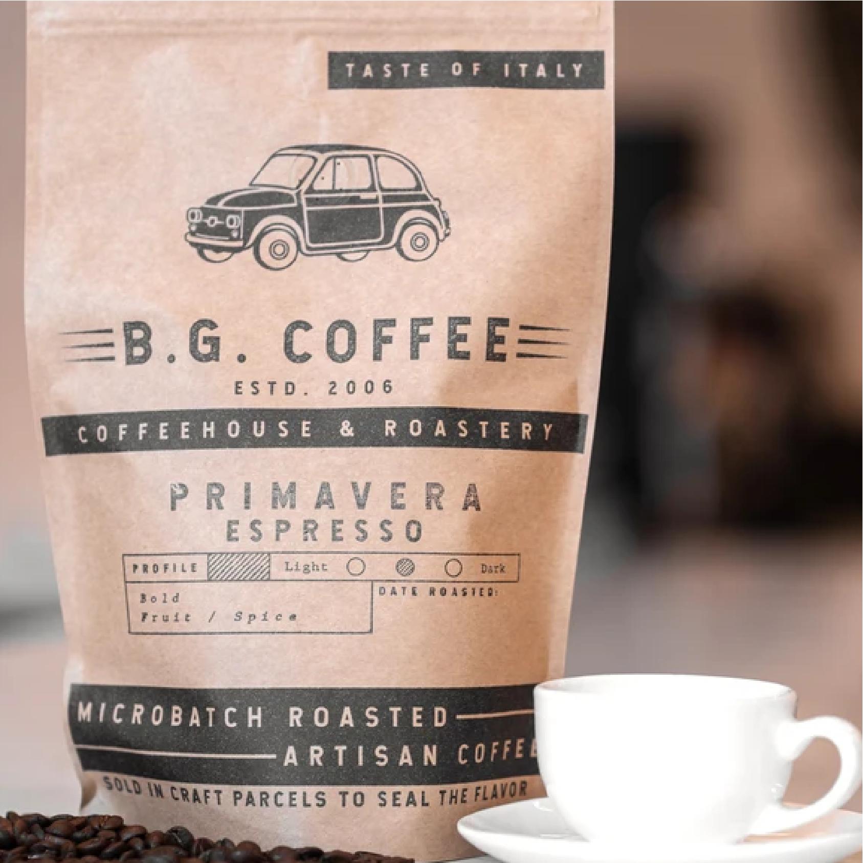 Espresso Primavera from Buon Giorno Coffee