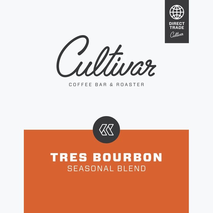 Tres Bourbon Seasonal Blend from Cultivar Coffee Roasting Co.
