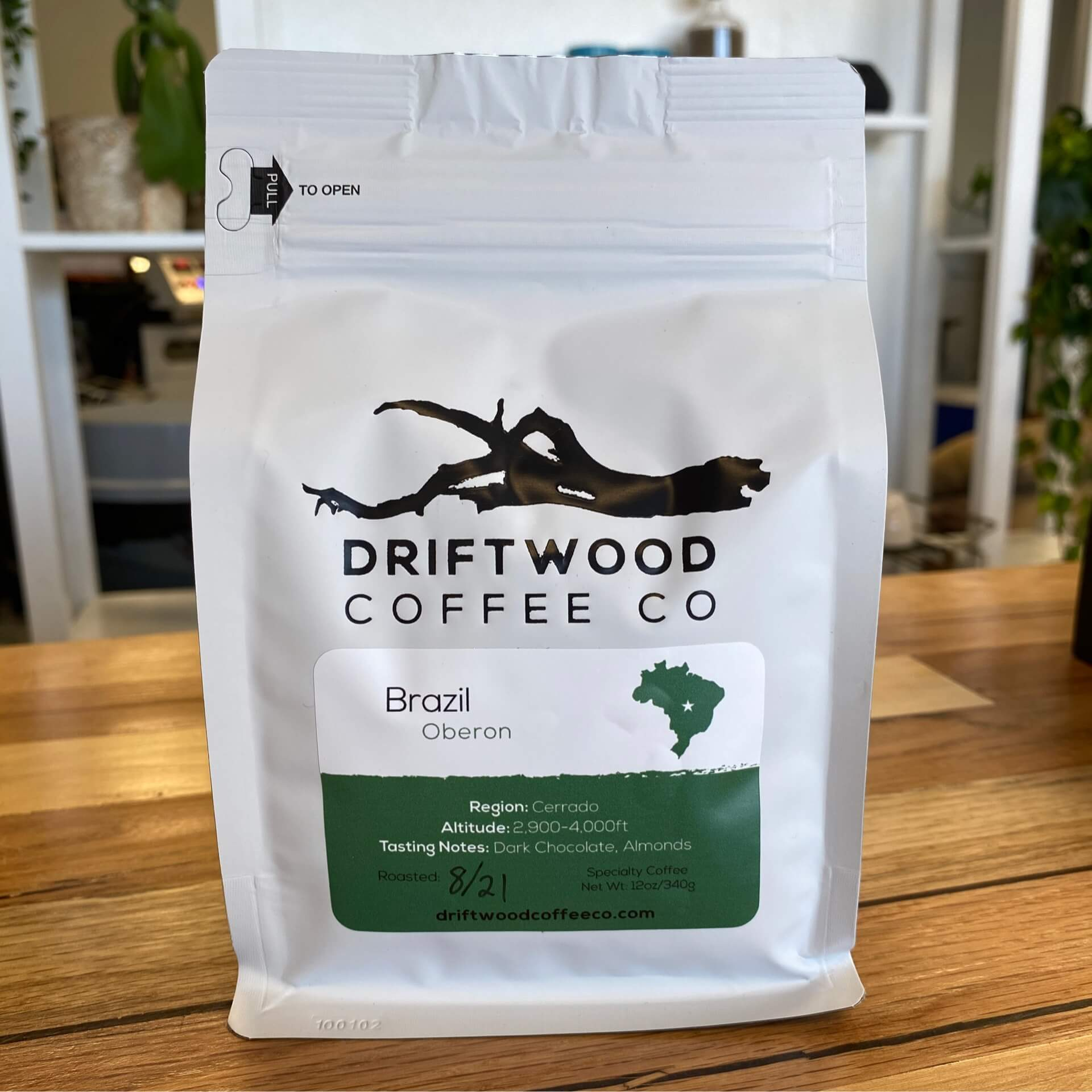 Brazil Oberon from Driftwood Coffee Co