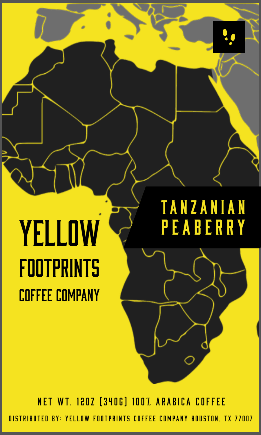 YFCC Tanzanian Peaberry from Yellow Footprints Coffee Company
