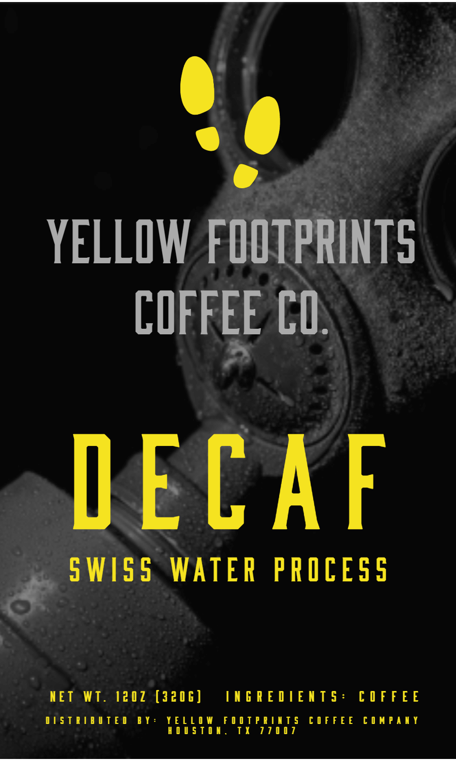 Decaf from Yellow Footprints Coffee Company