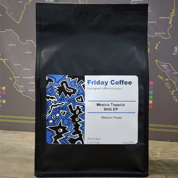 Mexio Topacio SHG EP from Friday Coffee Roasters