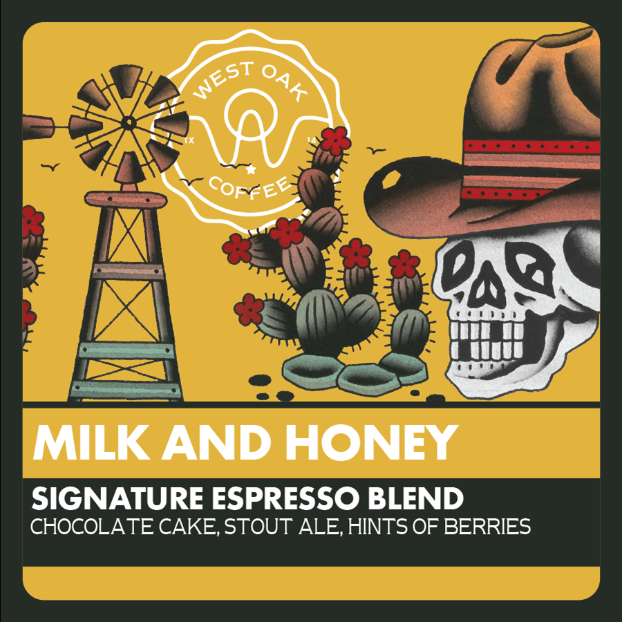 Milk and Honey - Espresso Blend from West Oak Coffee