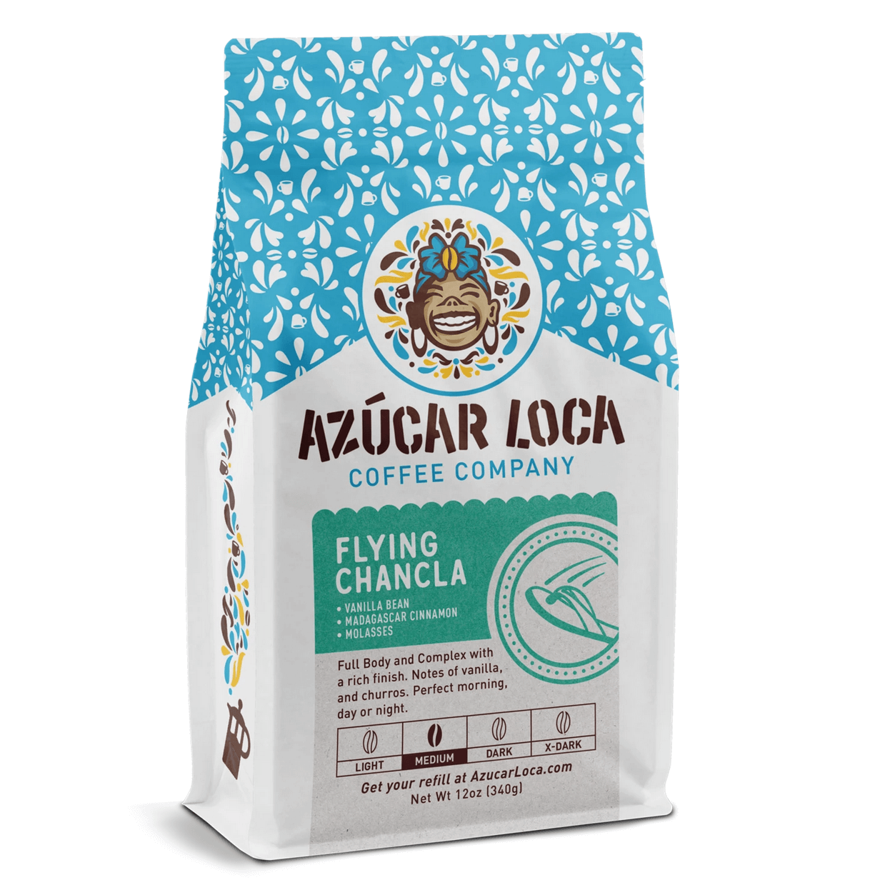 Flying Chancla from Azucar Loca Coffee Company