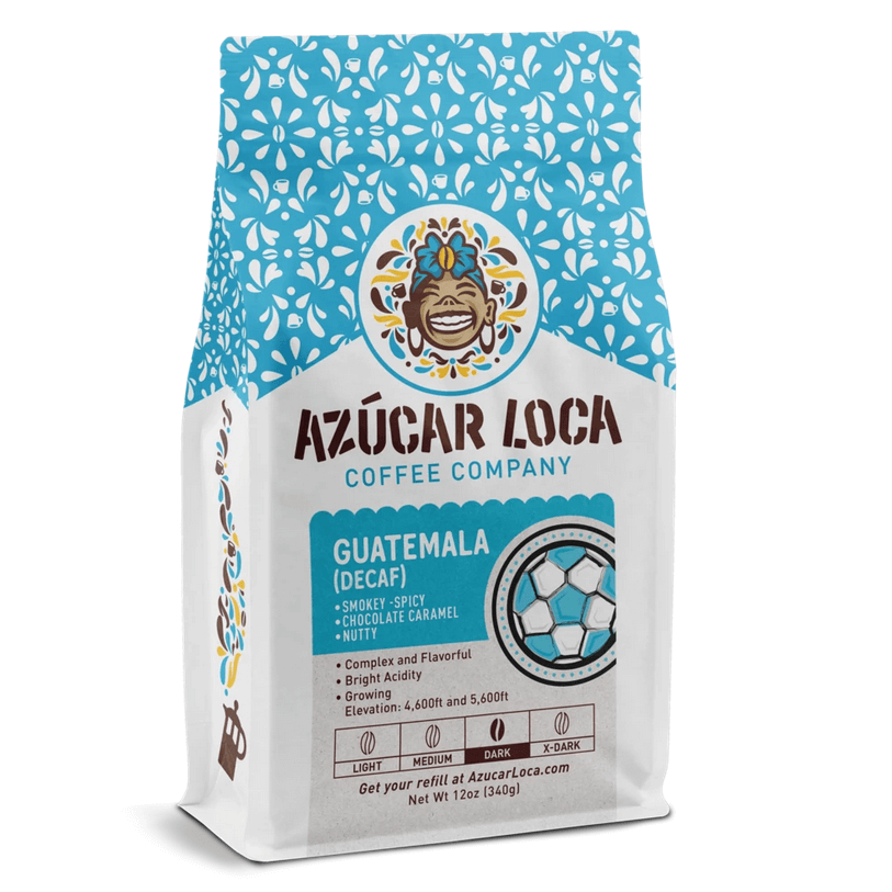 Decaf Guatemala Antigua from Azucar Loca Coffee Company