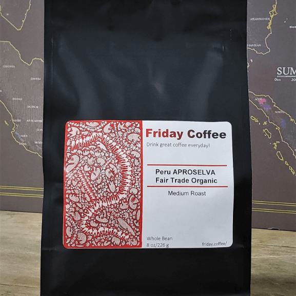 Peru La Florida Fair Trade Organic from Friday Coffee Roasters