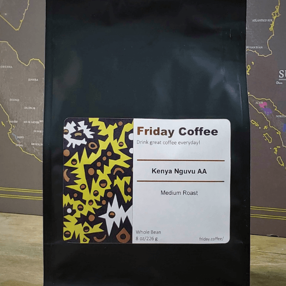 Friday Kenya Nguvu AA from Friday Coffee Roasters