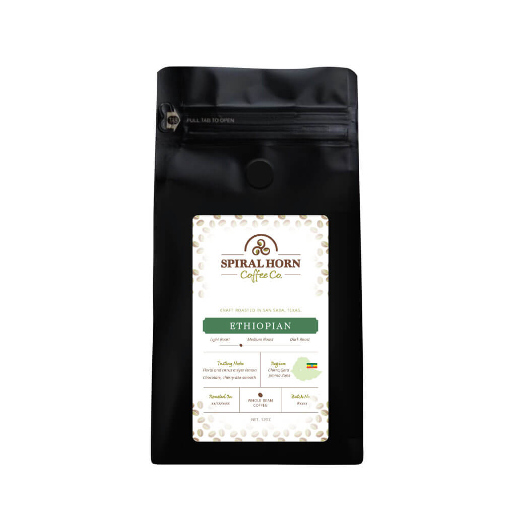 Ethiopian from Spiral Horn Coffee Co.