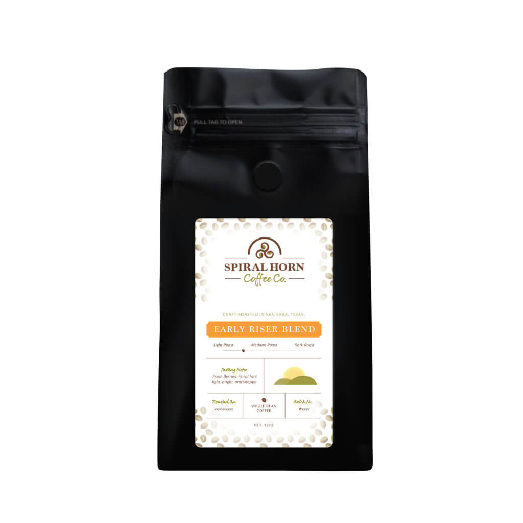 Early Riser Blend from Spiral Horn Coffee Co.