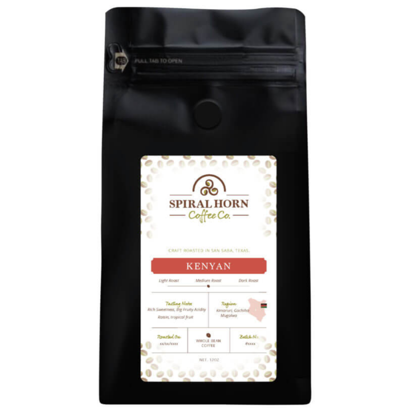 Kenya Mugalwa  from Spiral Horn Coffee Co.