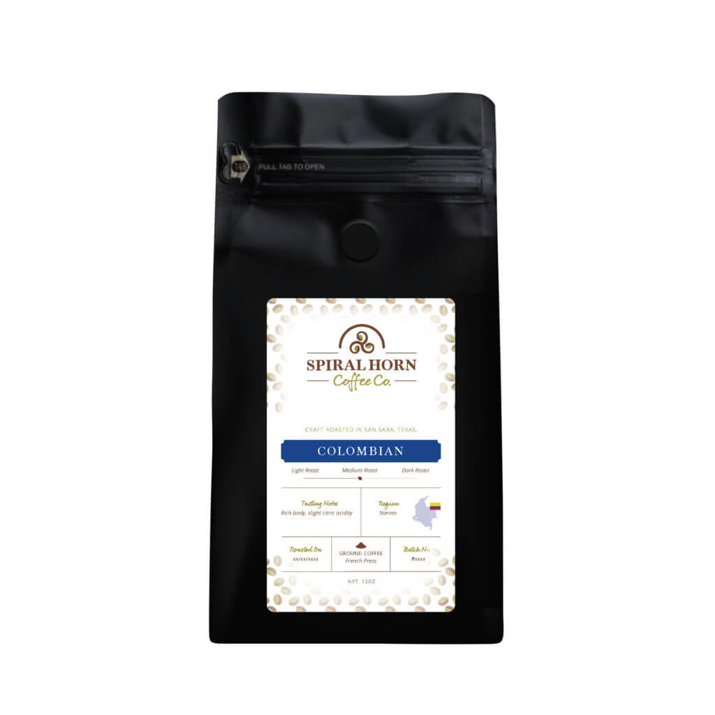 Colombian from Spiral Horn Coffee Co.