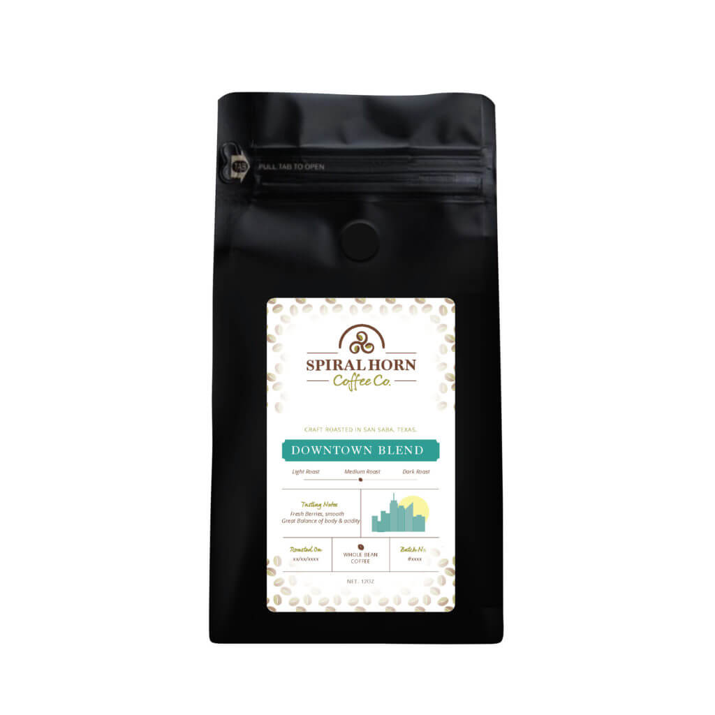 Downtown Blend from Spiral Horn Coffee Co.