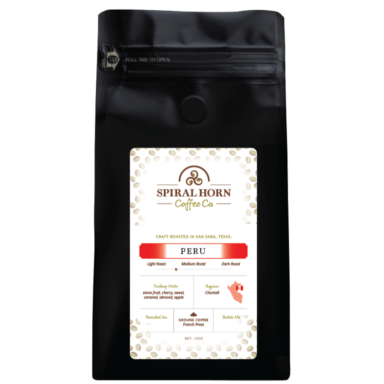 Peru Chontali from Spiral Horn Coffee Co.