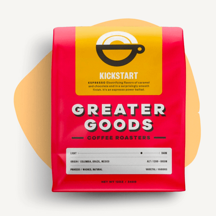Kickstart from Greater Goods Coffee Co.