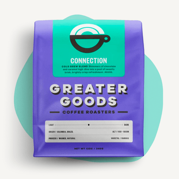 Connection - Cold Brew Blend from Greater Goods Coffee Co.