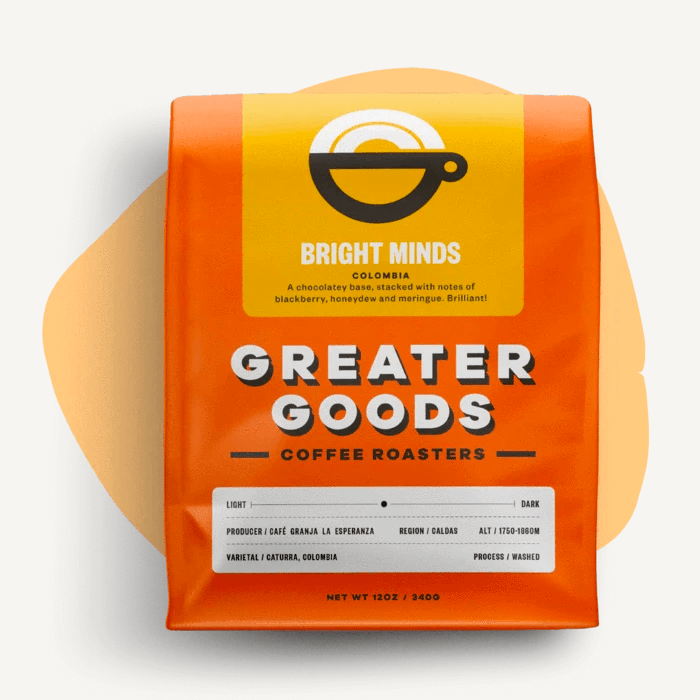 Bright Minds from Greater Goods Coffee Co.