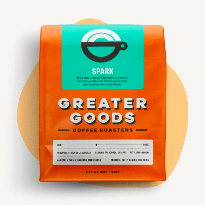 Spark from Greater Goods Coffee Co.
