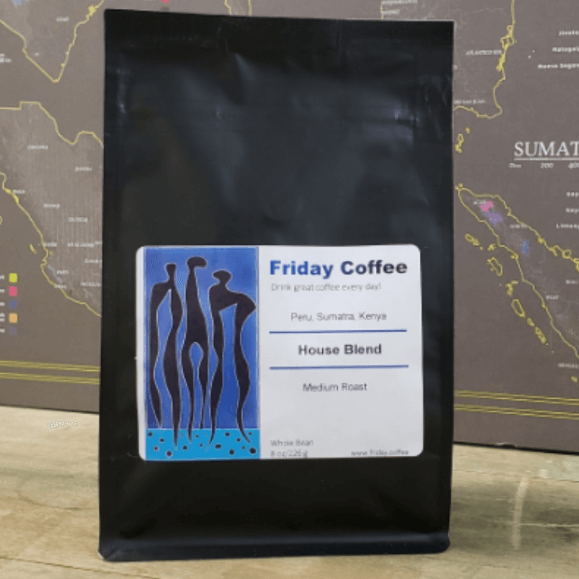 Friday House Blend from Friday Coffee Roasters