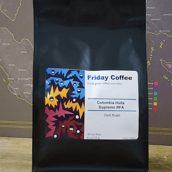 Colombia Huilo Supremo from Friday Coffee Roasters