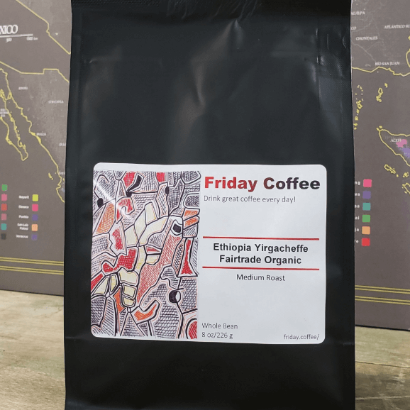 Friday Ethiopia Yirgacheffe from Friday Coffee Roasters