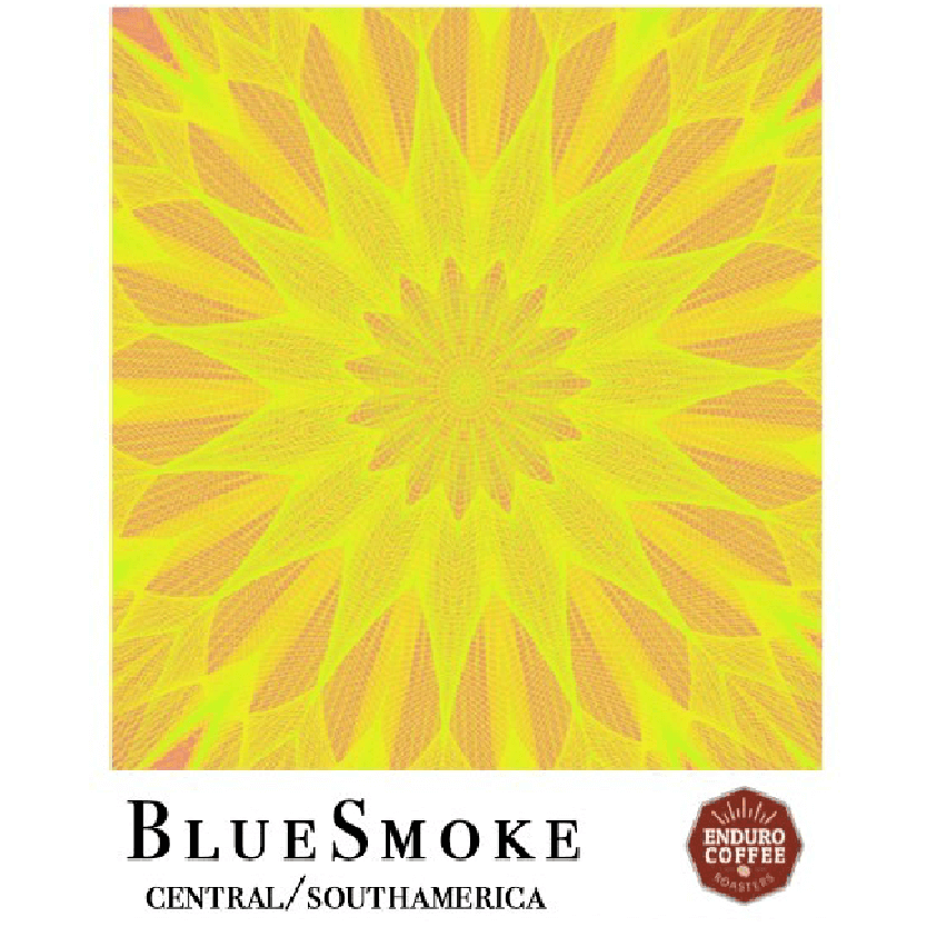 The Blue Smoke Blend from Enduro Coffee Roasters