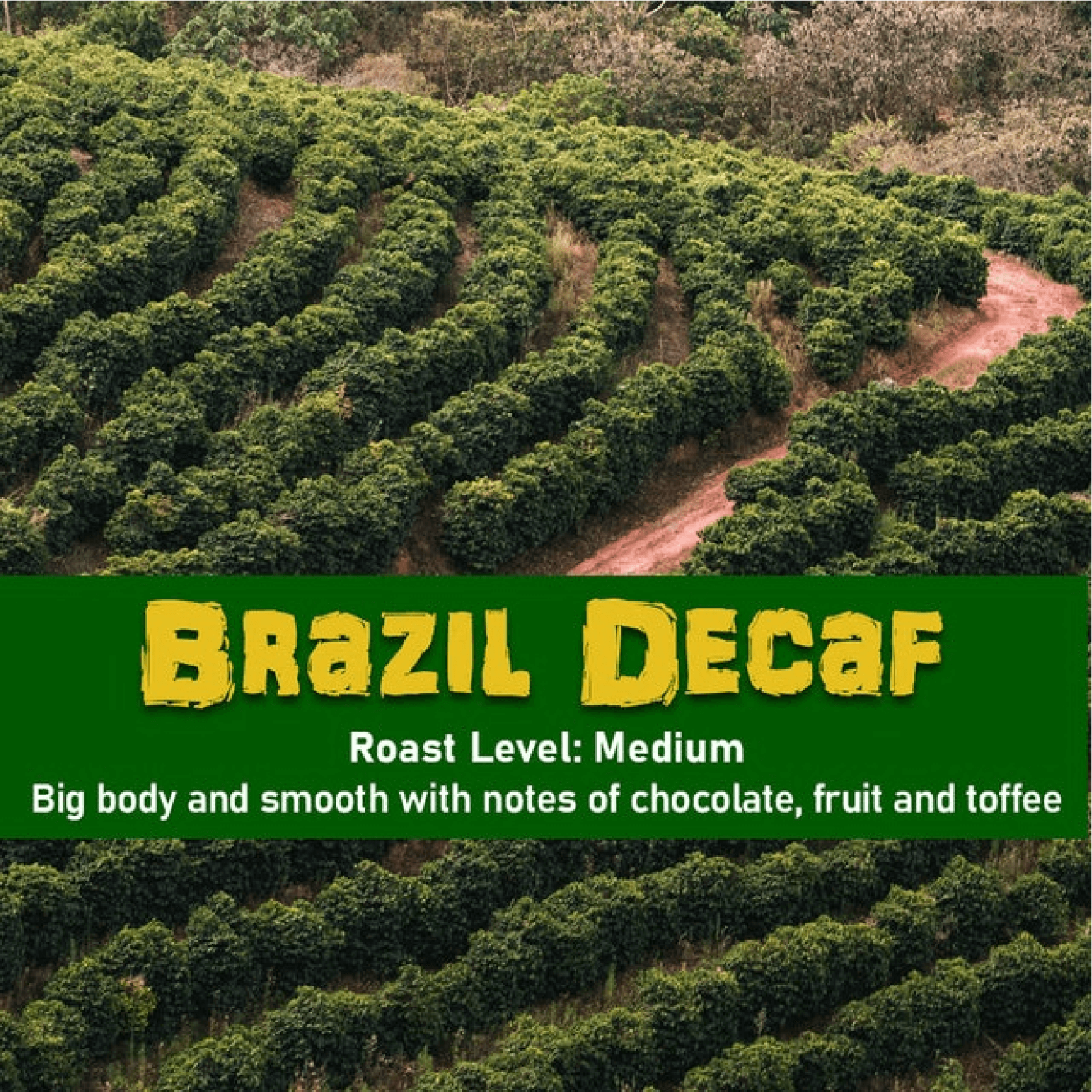 Malone Brazil Decaf (Water Processed) from Malone Specialty Coffee