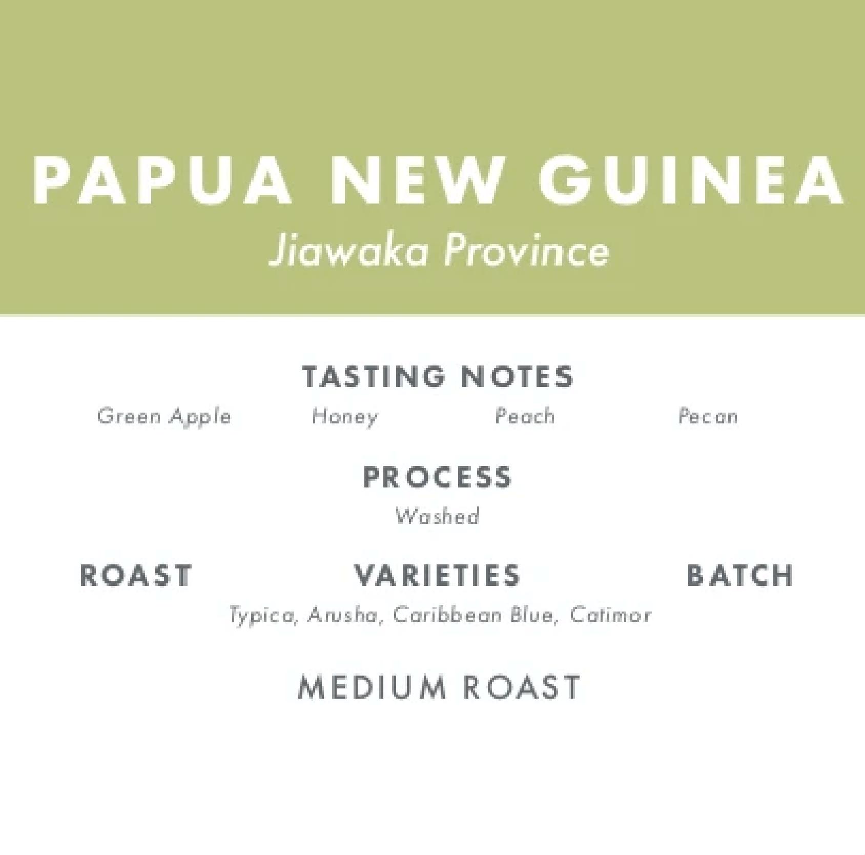 Papua New Guinea - Jiawaka Province from Polite Coffee