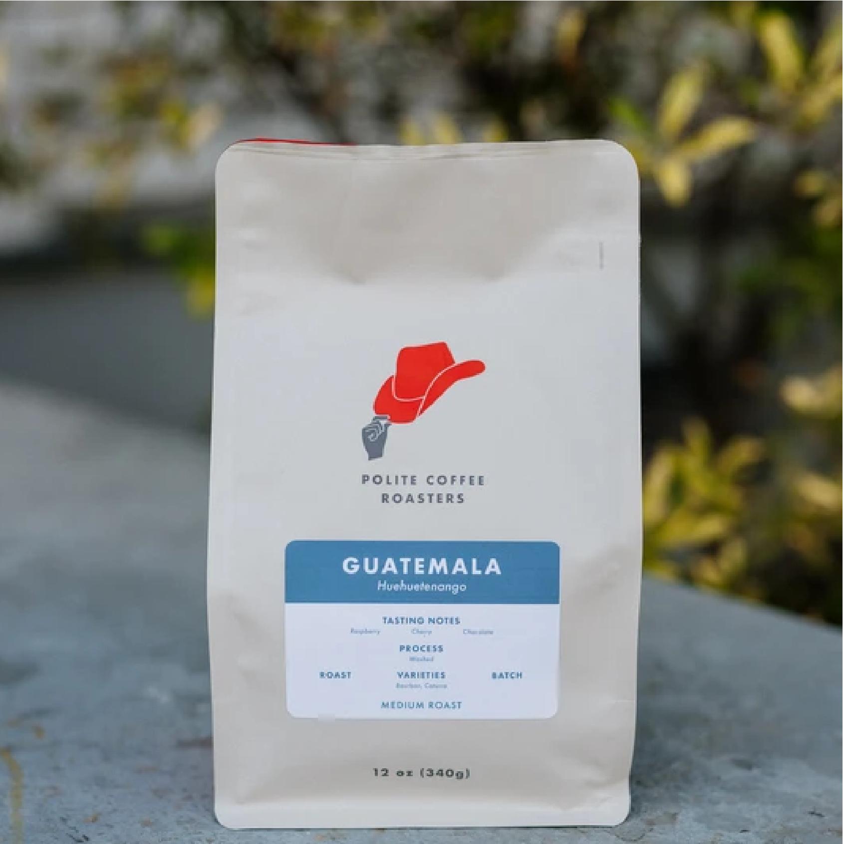 Guatemala Huehuetenango from Polite Coffee