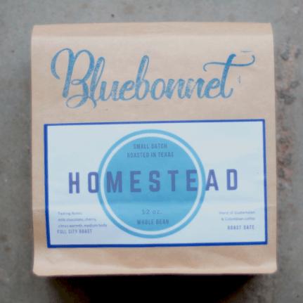 Homestead from Bluebonnet Coffee Co