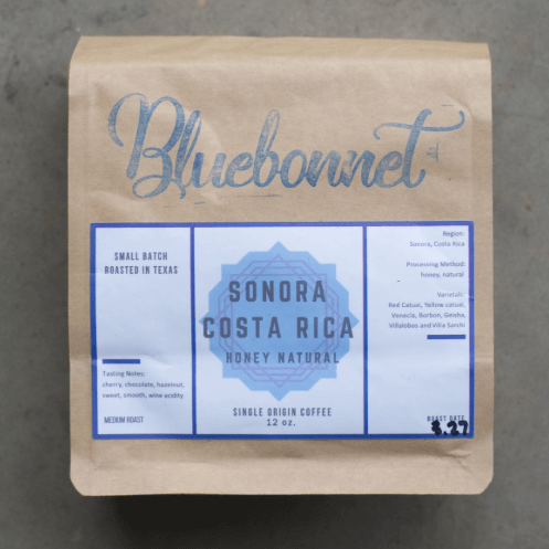 Sonora Costa Rica from Bluebonnet Coffee Co