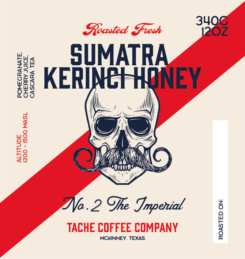 Sumatra Kerinci Honey from Tache Coffee Company