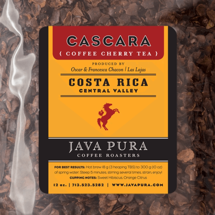 Costa Rica Las Lajas Cascara from Java Pura