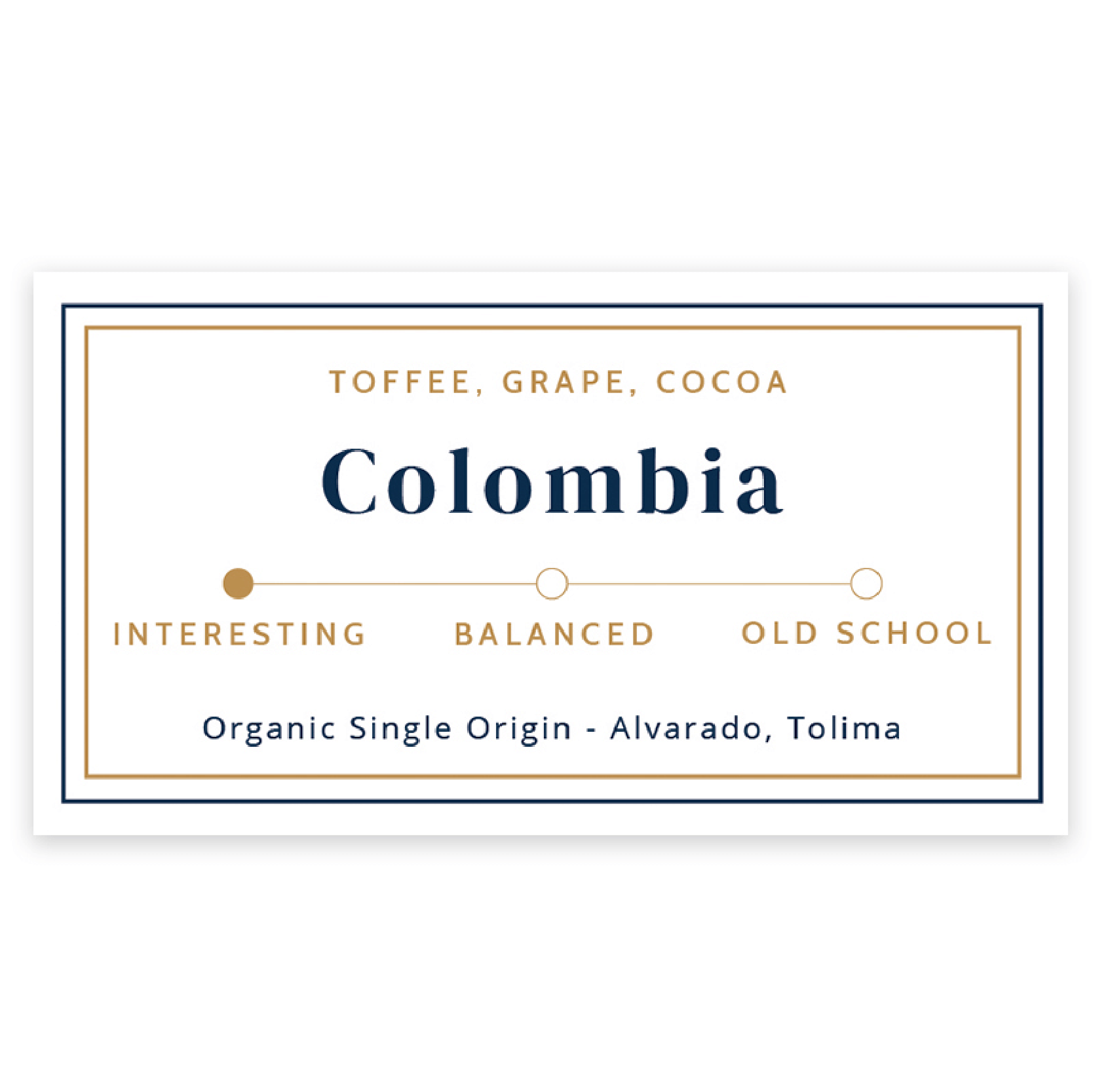 Colombia from Evangelist Roasting Co