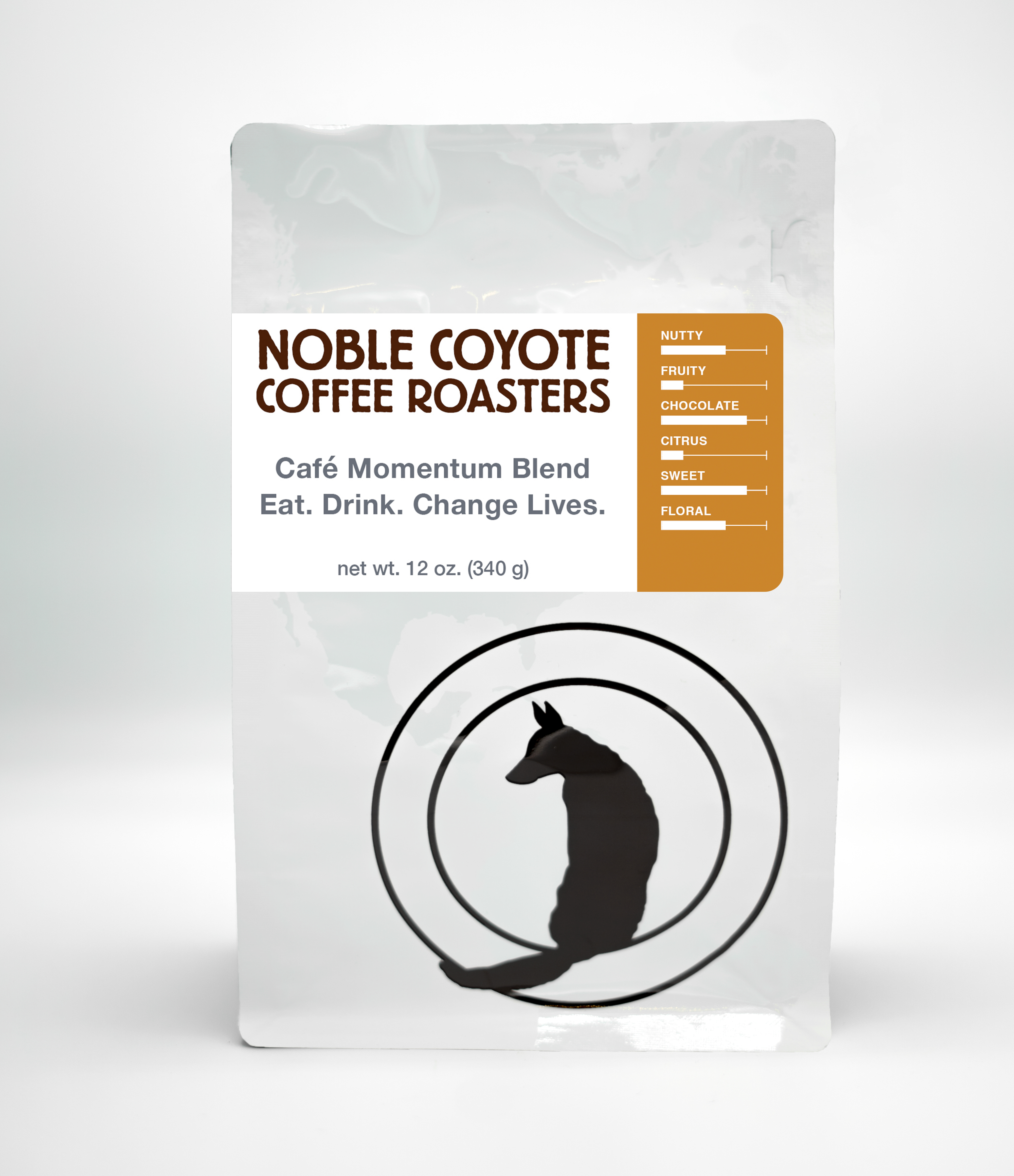 Café Momentum from Noble Coyote Coffee Roasters